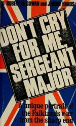 Don't Cry For Me, Sergeant Major